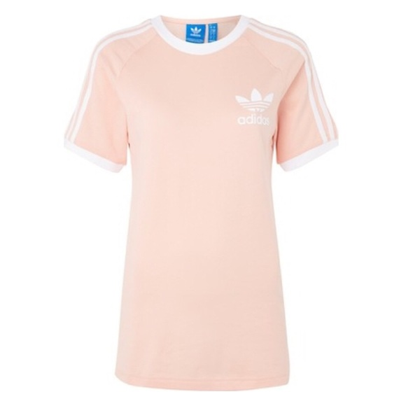 e2de3980966 adidas Tops | Originals California Tshirt Pale Pink | Poshmark